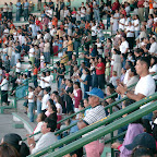 Durango Mexico Stadium Crusade crowd worshiping.jpg
