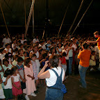 Nicaragua Crusade Ciudad Sandino Cindee giving childrens altar call.jpg