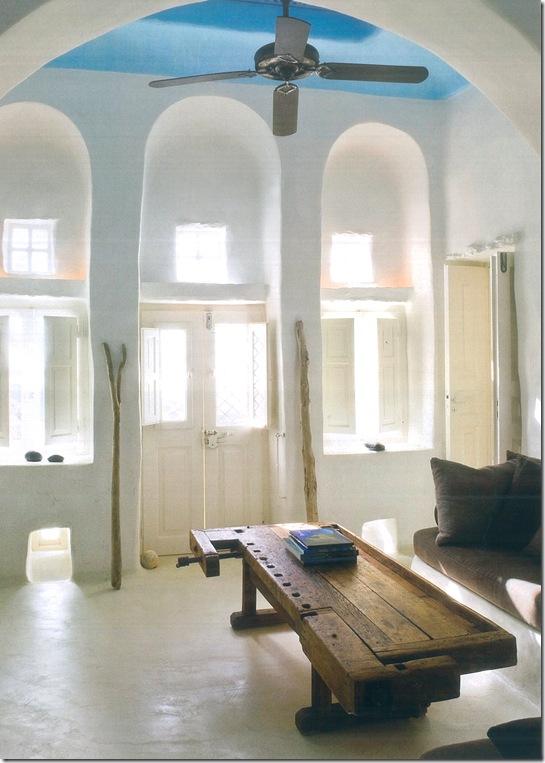 Casa de Valentina - via revista Côte Sud - sala de estar