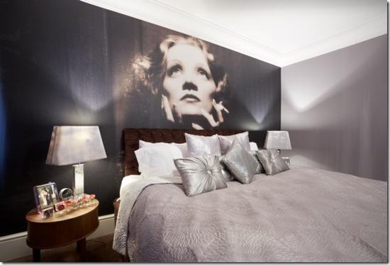 Casa de Valentina - via ShootFactory - 2 estilos na mesma casa em Londres - Greta Garbo