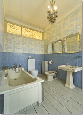 Casa de Valentina - via ShootFactory - Casa Londrina  - banheiro azul