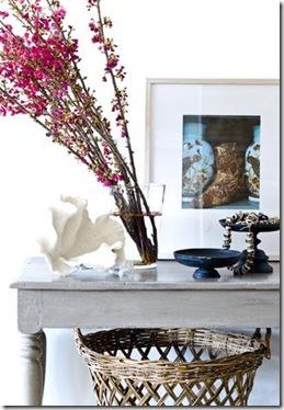 Casa de Valentina - via La Belle Vie - flores despojadas