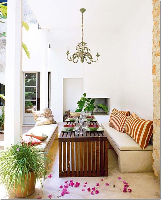 Casa de Valentina - via Just be Splendid - uma varanda mediterrânea