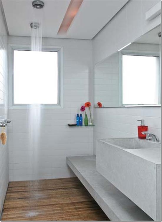 Casa de Valentina - via casa Claudia - eu quero muito este banheiro!