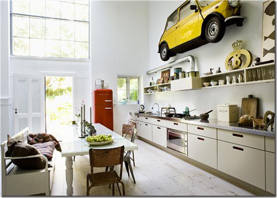 Casa de Valentina - Via Stuart Mcintyre - cozinha intera aberta