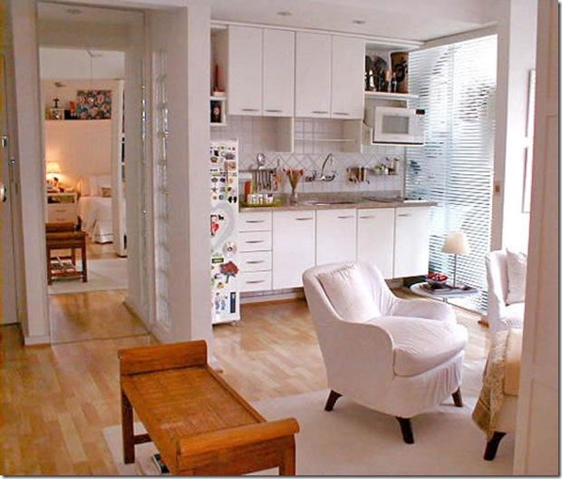 Cozinha totalmente integrada. Cristina Bozian.