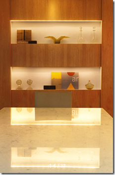 Detalhe sala de jantar. Projeto Carmen Marise
