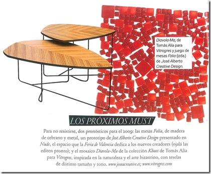 Mesa de centro linda - Foto Architectural Digest