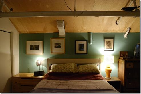 O quarto à meia luz