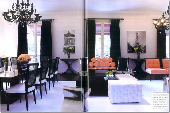 Sala prete e laranja