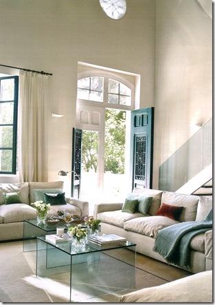 Mesa de centro de vidro by El Mueble