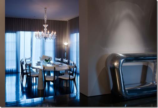 Beverly Hills - sala de jantar