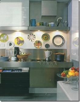 Casa de Valentina - via CasaViva - cozinha colorida