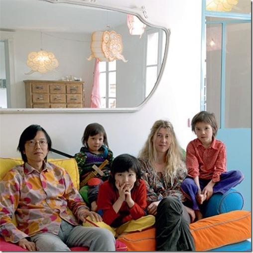 Casa de Valentina - via Marie Claire Maison - família reunida