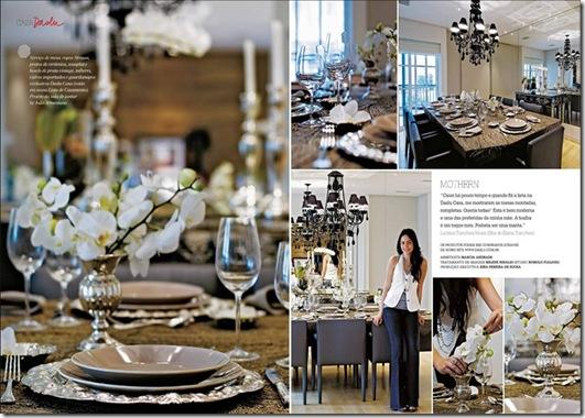 Casa de Valentina - Revista Daslu - mesa com orquídeas