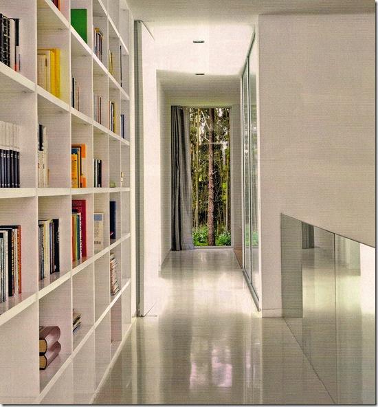 Casa de Valentina - Arquitectura Y Diseño - prateleira embutida