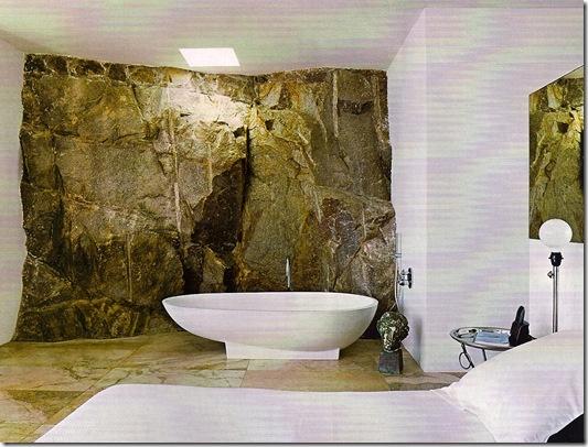 Casa de Valentina - parede de pedra natural