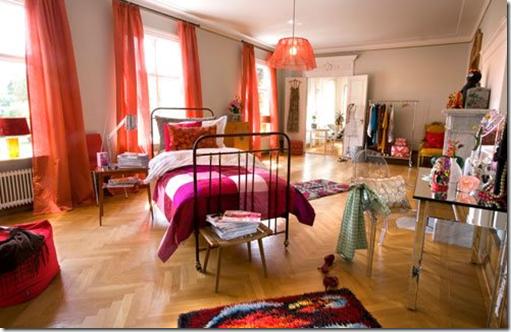 Casa de Valentina - via Flickr ohh food - cama flutuante