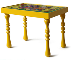 Casa de Valentina - StudioDupla - mesa colorida