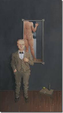 Rodrigo Cunha - Homem com gravata borboleta - 2009  80x40