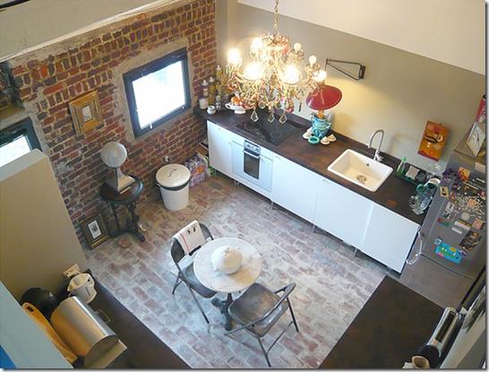 Casa de Valentina - cozinha descolada e alegre