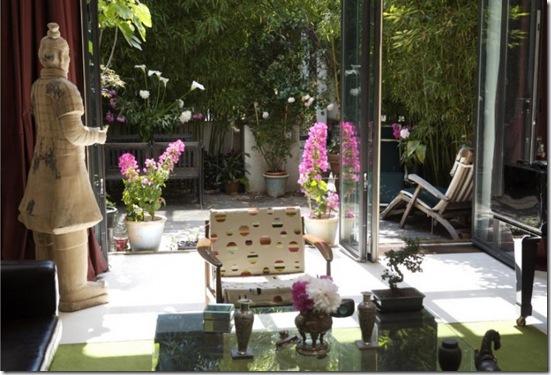 Casa de Valentina - flores em vasos