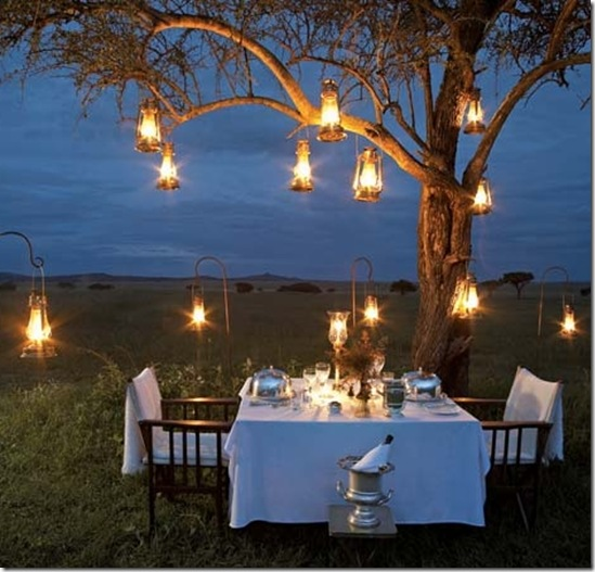 Casa de Valentina - jantar ao ar livre - via La Belle Vie