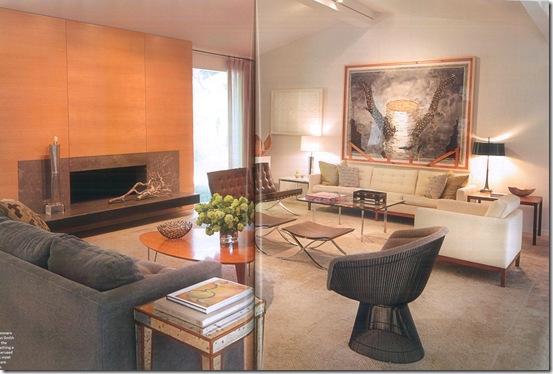 Casa de Valentina - via Towns & Country - uma sala com vários ambientes