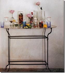 Casa de Valentina - via Everything Fabulous - bar improvisado