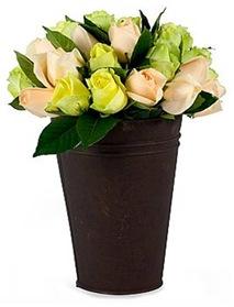 Casa de Valentina - Flora Flores - rosas verdes e rosas