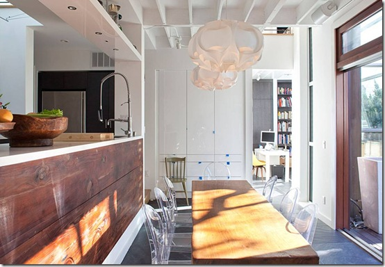 Casa de Valentina - Feldman Architecture - uma casa de 1960 em San Francisco - cozinha aberta