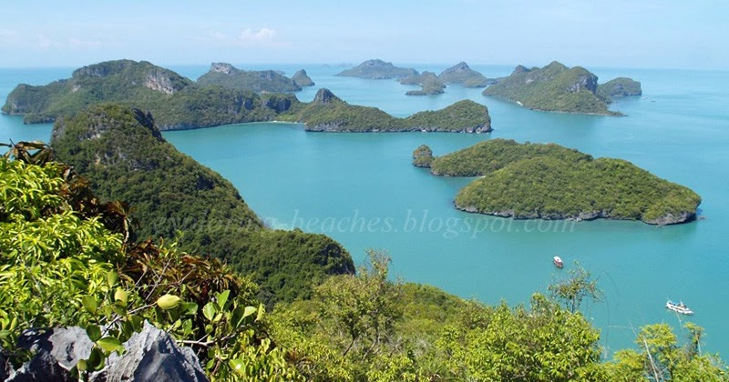 Wua Talap Island viewpoint - Exploring Beaches, Bays & Islands