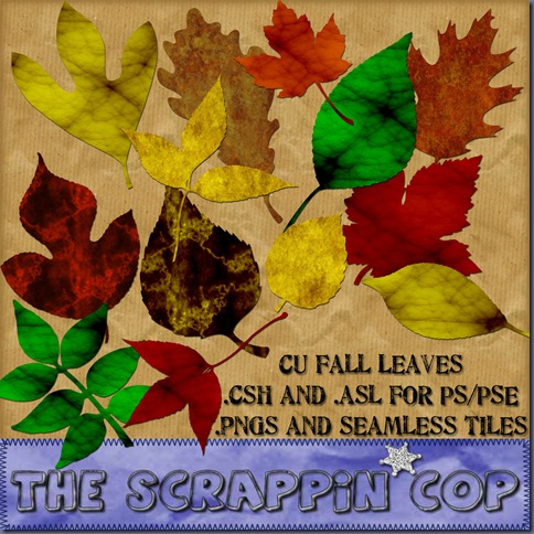 http://thescrappincop.blogspot.com/2009/10/build-your-own-fall-leaves.html
