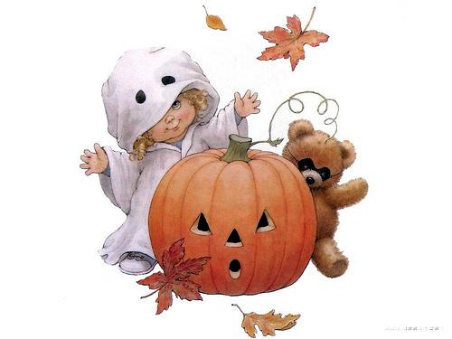 Imagenes infantiles para halloween - Dibujos infantiles halloween ...