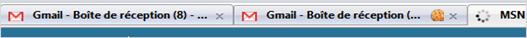 deux sessions gmail