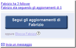 seguire aggiornamenti google buzz