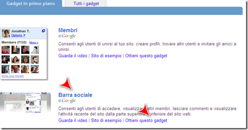 social bar google friend connect