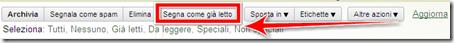 come inserire mail già letta gmail