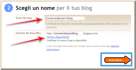 come scegliere nome blog blogger