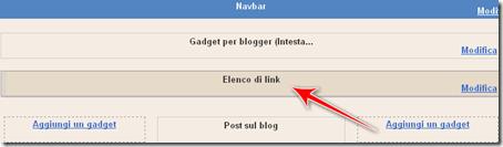 come creare menu personalizzato orizzontale blog blogspot