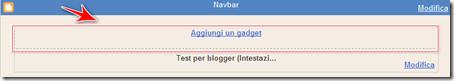 come mettere banner intestazione  header blog blogger
