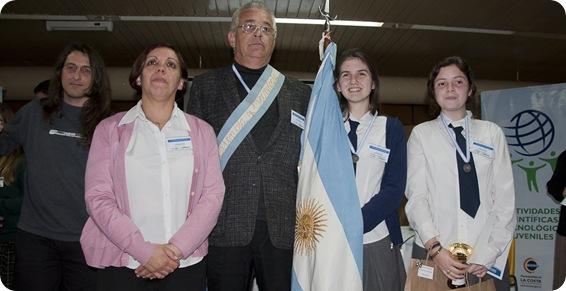 Ganadores de la Feria de Ciencia y Tecnología en San Bernardo