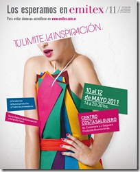 Exposición EMITEX 11 en Costa Salguero, Buenos Aires