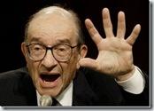 Alan Greenspan, anterior presidente de la Reserva Federal de los EUA