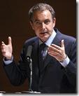 J.L.R. Zapatero, actual presidente del gobierno