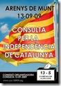 Referendum independentista en Arenys