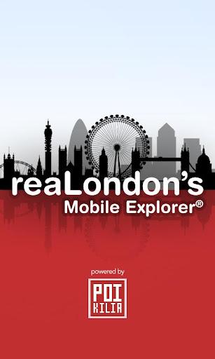 reaLondon's Mobile Explorer