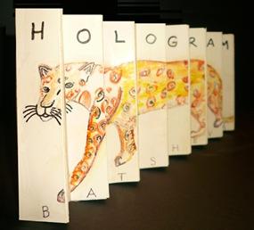 Handmade hologram Lapord - Sheva Apelbaum