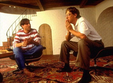 Bill Gates and Steve Jobs 1991-Sheva Apelbaum
