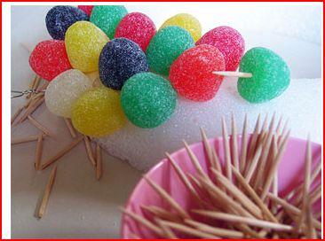 اعمال فنية من الحلويات طوق من الحلويات تزيين حفلات